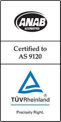 Certified to AS 9120
